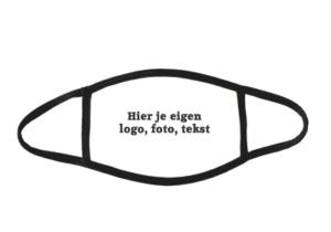 Mondkapje met eigen foto logo of tekst