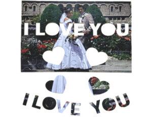 fotopuzzel,foto puzzel,cadeau puzzel,eigen puzzel,puzzel foto,MDF Puzzel,I Love You Puzzel